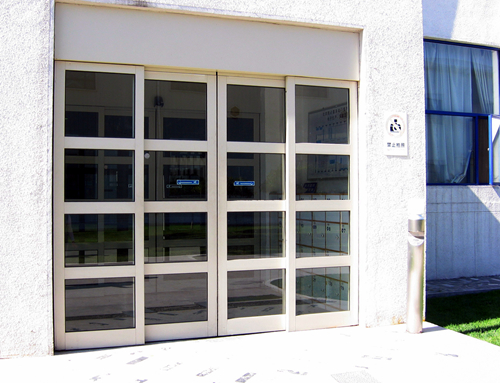 Automatic Sliding Doors with Aluminum Alloy Profiles
