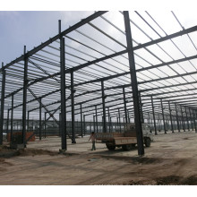 Stahlkonstruktion Bau Logistik Lagergebäude