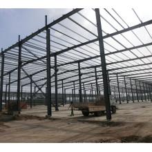 Construção de estrutura metálica Construção de armazém logística