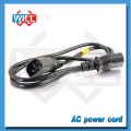 Dongguan Manufacturer c13 c14 connector power cord