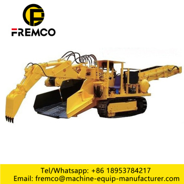 Hydraulic Rock Mucking Loader Machine