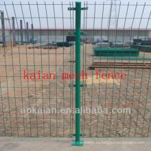 Hebei anping KAIAN verde pvc recubierto galvanizado alambre de alambre soldado