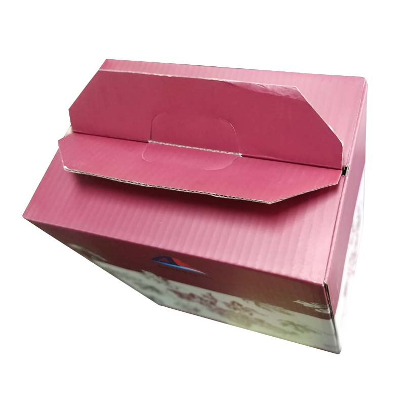 high-end wine color carton