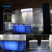 stand de exhibición de exhibición, material de alquiler de stand de exhibición