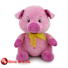 ICTI Audited Factory High Quality Custom promotional custom stuffed plush pig animal toys