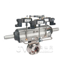 ISO14001 manual Pneumatic sanitary butterfly valve