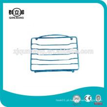 Conjuntos de banheiro Prato de sabão em metal / ferro fio Soap Basket / Soap Holder