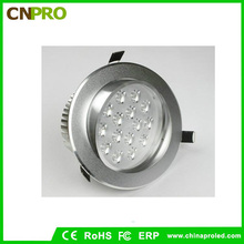Fábrica al por mayor 15W Downlight LED