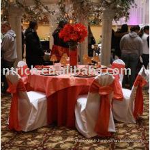 charmant tissu de couverture & table chaise