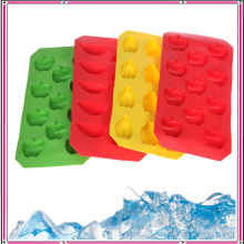Nontoxic Fruit Shapes Silicone Ice Maker Ice Mold DIY Ice