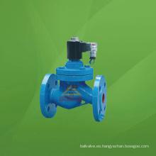 Válvula solenoide de vapor de temperatura media de acero inoxidable (GAZCZP)