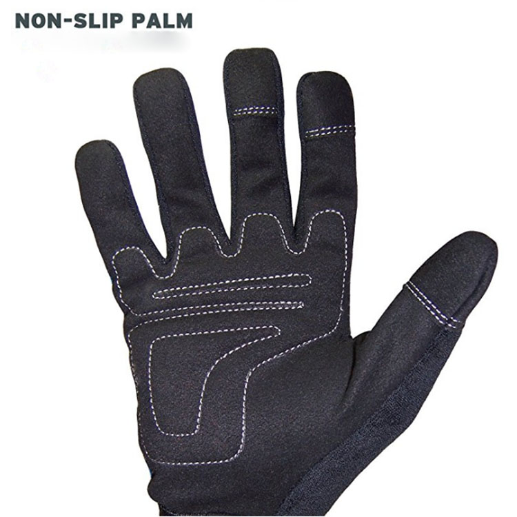 Blue Equipment Gloves