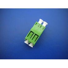 LC / APC Duplex Adaptador de fibra óptica
