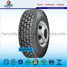 13r22.5 Neumáticos radiales de acero para camiones de patrón popular