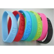 Hot Sale Wholesale Wristband Custom Printed Silicone Bracelets