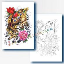 Livres de tatouage professionnels de haute qualité