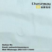 Tela de la ropa de la textura de la rejilla 50% Rayón + 50% Poliéster