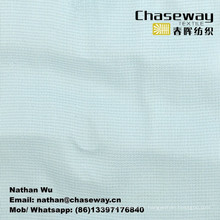 Tecido de vestuário de textura de grade 50% de rayon + 50% de poliéster