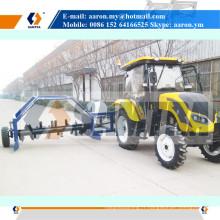 Machine de mélangeur de Turner de compost de remorquage de tracteur de ZFQ