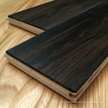 Plancher en bois d'orme récupéré Plancher en bois ancien machiné (parquet)