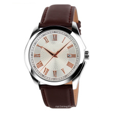 Newest Mold Customised Design Leather Strap Men Watch