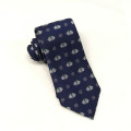 Concrete Form Christmas Silk Tinkle Bell Men Custom Tie With Logo