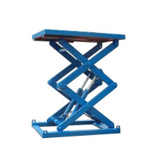 Fixed hydraulic arm lift platform