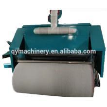Tira não tecida do algodão que faz a máquina, máquina de cartão automática de lãs da fibra de poliéster