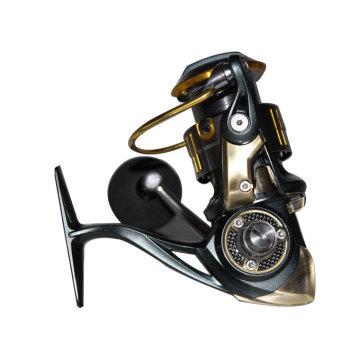 Attention: 2015 Nouveau Alu Spinning Reel - Alu Body Frame avec Rotor d'air populaire Rapport d'engrenage élevé 6.2: 1