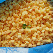 Jintong, 83 # IQF Frozen Yellow Peach Dices