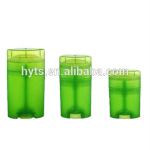 15ml 40ml 50ml Oval shape high quality twist deodorant container