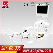 2015 Hot cheeron CX-33S professional china rc drone fpv with HD camera one-key to landing for sale