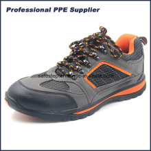 Chapéu de borracha Outsole PU Leather Lightweight Safety Footwear