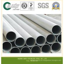 Tubo de acero inoxidable del tipo 304 de la serie 300 del mercado de China