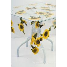 printed clear PVC table cloth