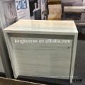 Surface solide en marbre artificiel, table de travail de bureau, table de réception de bureau