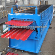 IBR and corrugated double layer sheet roofing tile roll forming machine