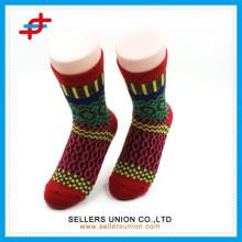 Neue bunte Damen warme Wolle gemischte Socke