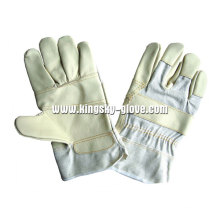 Patched Palm Furniture Leather Glove-4020