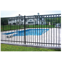 Hot Dipped Galvanizing Flat Top Picket Fence