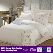 Échantillon disponible vente chaude spéciale pour le linge de l'hôtel 3-5 étoiles, literie d'hôtel / linge de lit d'hôtel