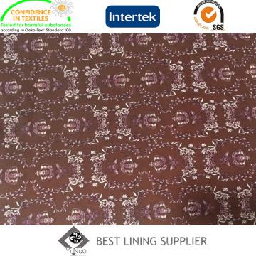 Polyester Printed Liner Futterstoff für Herren Wintermantel