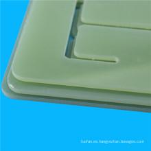Tabla de cortar del color verde fr4 para PCB
