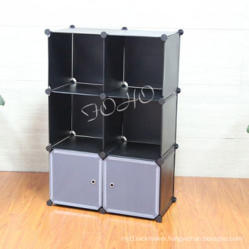 Plastic Cabinet with Black Color (FH-AL0023-2)