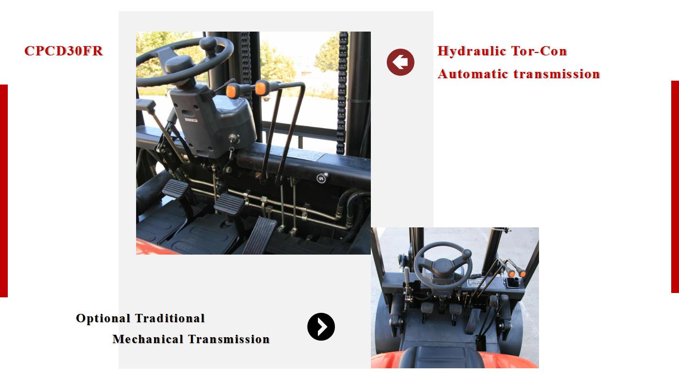3 Tons Diesel Forklift 2