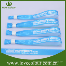 Fast sample time cheap custom fabric cloth thin wristband