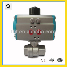 AC24V ,AC220V Stainless Steel ball valve Pneumatic air Actuator valve