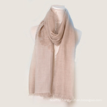 2014 New Fashion 100%Water Soluble Cashmere Scarf (14-BR420201-1)