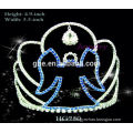 fashion party tiara hair accessories flowers tiara royal crown silver watches pink princess tiara