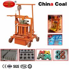 Mini máquina manual de fabricación de bloques de hormigón